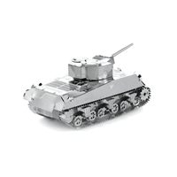metal earth tanks - sherman tank 4
