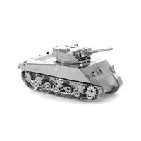 metal earth tanks - sherman tank 5