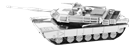 metal earthe  tanks m1 abrams tank
