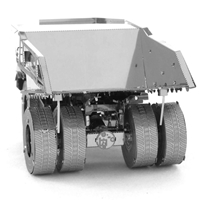 metal earth CAT mining truck 2