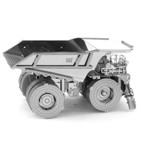 metal earth CAT mining truck 3