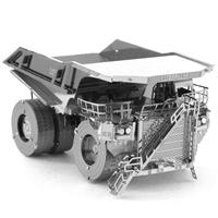 metal earth CAT mining truck  4