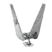 metal earth  the  Star Wars - kylo ren's command shuttle 4