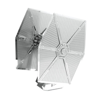 metal earth starwars first order special forces tie fighter 3