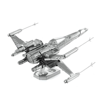 Metal Earth Star Wars - Poe Dameron's X-wing fighter 4