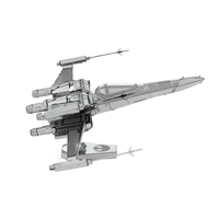 Metal Earth Star Wars - Poe Dameron's X-wing fighter 5