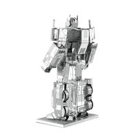 metal earth transformer - optimus prime 1