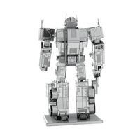 metal earth transformer - optimus prime 2