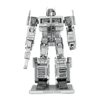 metal earth transformer - optimus prime 4