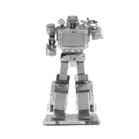 metal earth transformers - soundwave 2
