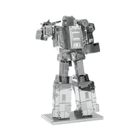 metal earth transformers - soundwave 4