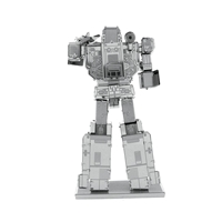 metal earth transformers - soundwave 5