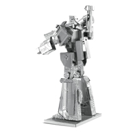 metal earth  Transformers - megatron 4