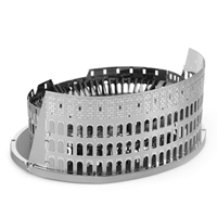Metal Earth architecture - Roman Colosseum Ruins 2