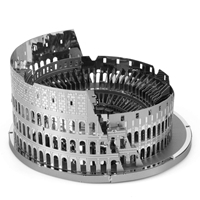 Metal Earth architecture - Roman Colosseum Ruins 4