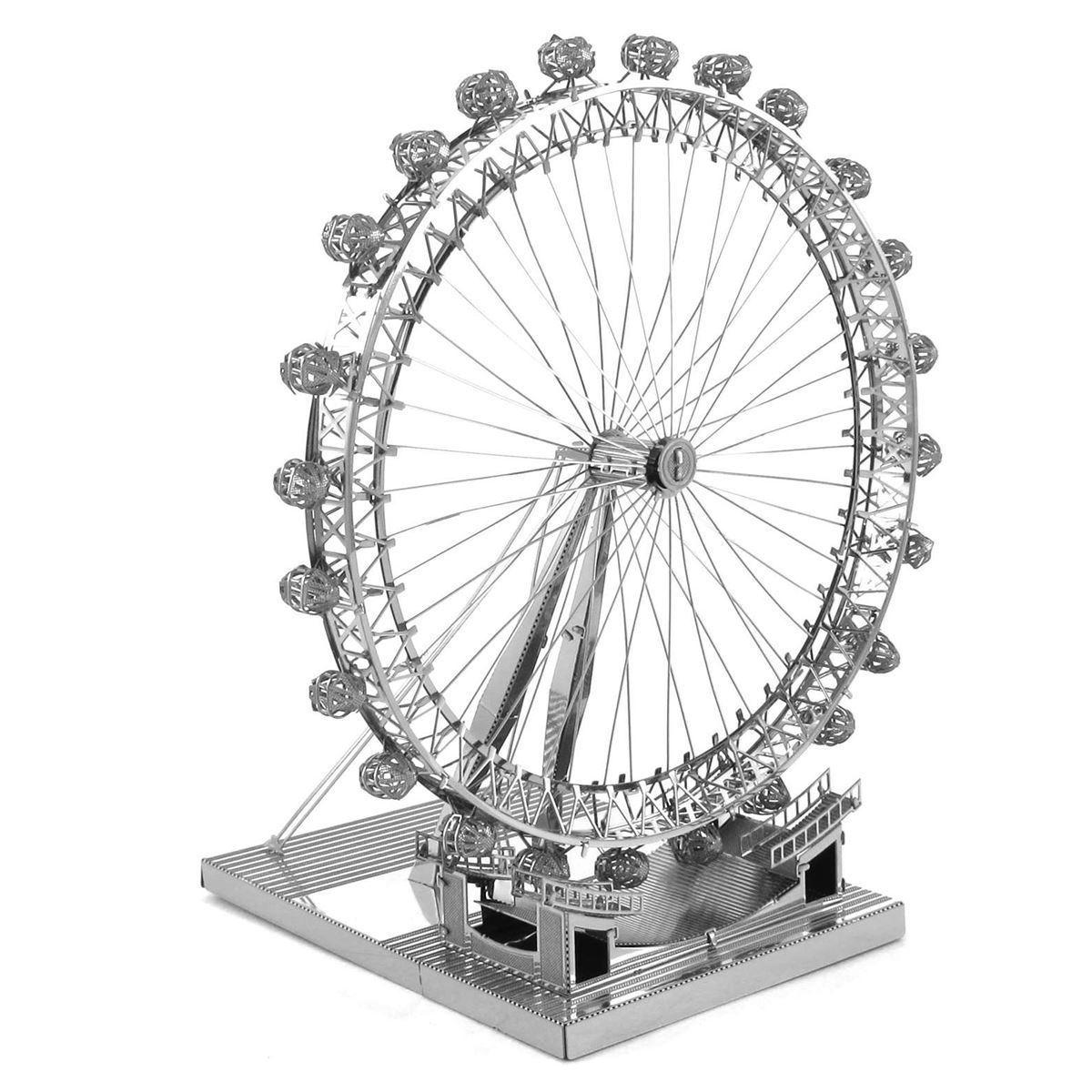 ICX019 Fascinations Metal Earth IconX Metal Model Kit London Eye Ferriswheel