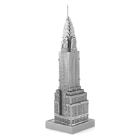 metal earth architecture - iconx chrysler builing 3