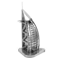 metal earth architecture - iconx burj al arab 4