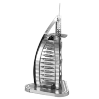 metal earth architecture - iconx burj al arab