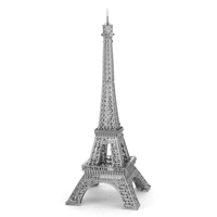 metal earth architecture - iconx eiffel tower 5