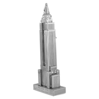 metal earth architecture - iconx empire state building 1