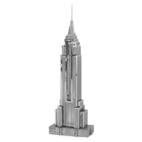 metal earth architecture - iconx empire state building 3