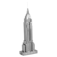 metal earth architecture - iconx empire state building 5