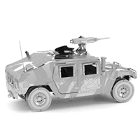 metal earth  Iconx humvee 3