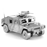 metal earth  Iconx humvee 4