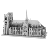 metal earth  Iconx notre dame 1