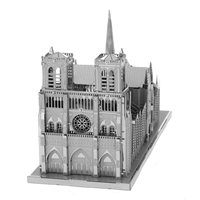 metal earth  Iconx notre dame 5