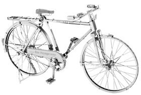 metal earth vehicles - iconx classic bicycle