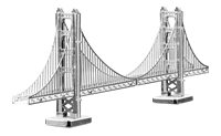 Metal Earth architecture - metal Golden gate bridge