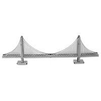 Metal Earth architecture - metal Golden gate bridge 5