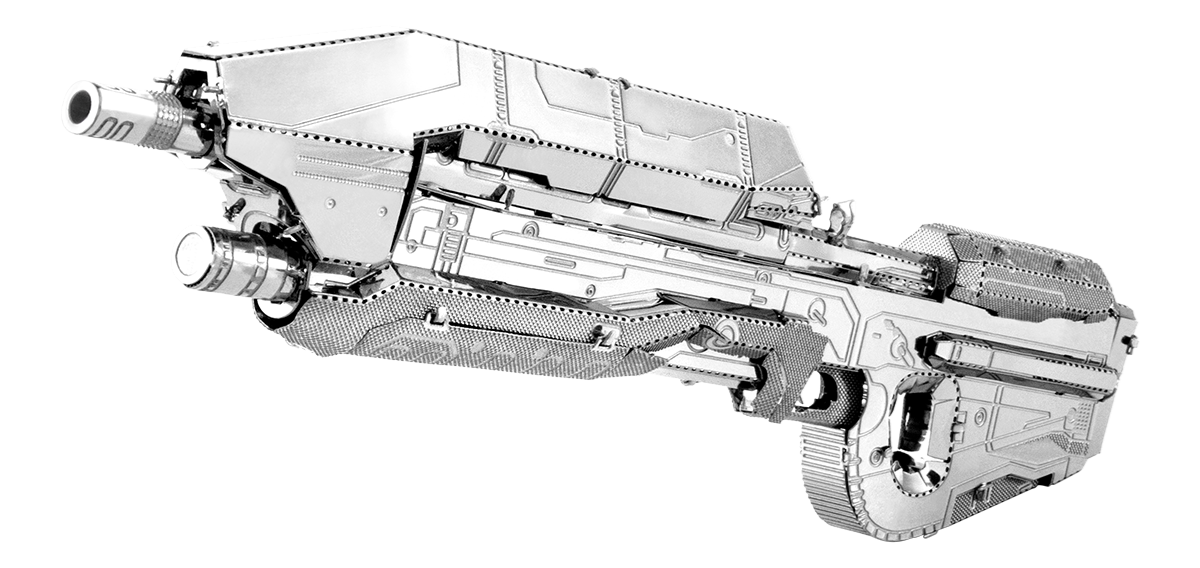 metal earth Halo - assault  rifle