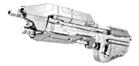 metal earth Halo - assault  rifle