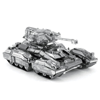 metal earth halo - unsc scorpion instructions 1