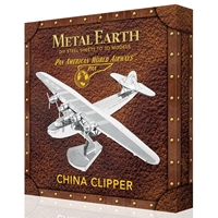 metal earth aviation - pan am china clipper - box version 1