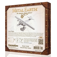 metal earth aviation - pan am china clipper - box version 2