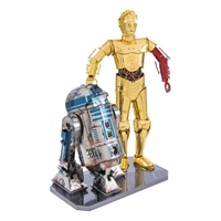 metal earth girt box sets - c-3PO & R2- D2 3