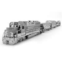 metal earth vehicles -Freight Train Set 2