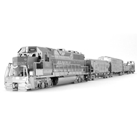 metal earth vehicles -Freight Train Set 3