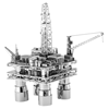 metal earth architecture - Offshore Oil Rig & Oil Tanker Gift Set  3