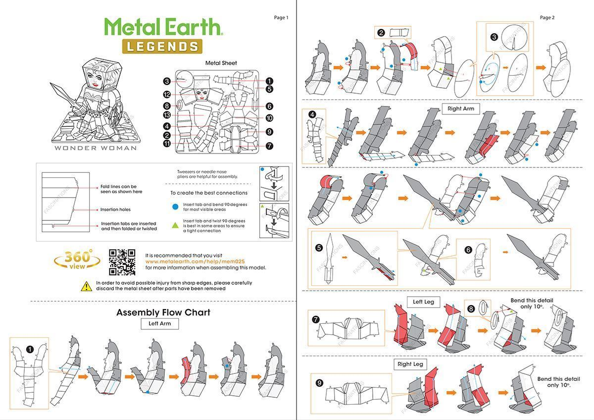 Metal earth diy 3d metal model kits metal earth legends some more general tips pooptronica