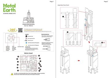 metal earthe  architecture - empire state building instruction
