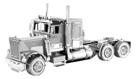metal earth freightliner - flc long nose truck
