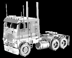 metal earth freightliner coe truck