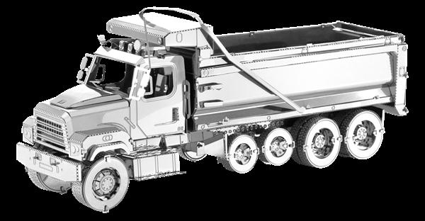 metal earth freightliner 114SD Dump Truck