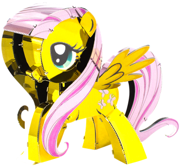 metal earth my little pony fluttershy