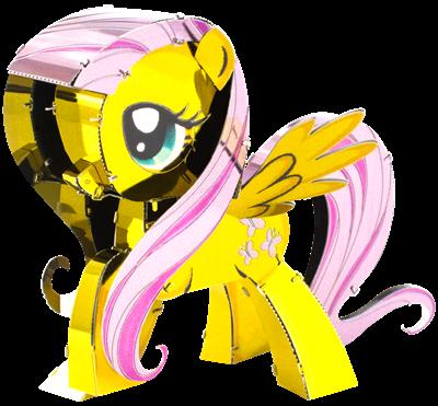 metal earth my little pony fluttershy